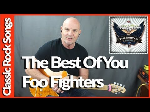 The Best Of You By Foo Fighters - Guitar Lesson Tutorial
