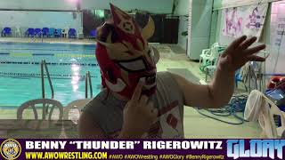 "Benny ""Thunder"" Rigerowitz wants to be Thunder Victorious"