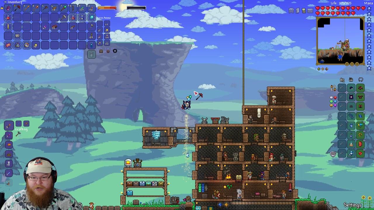 Modded Terraria: Magic Storage!!