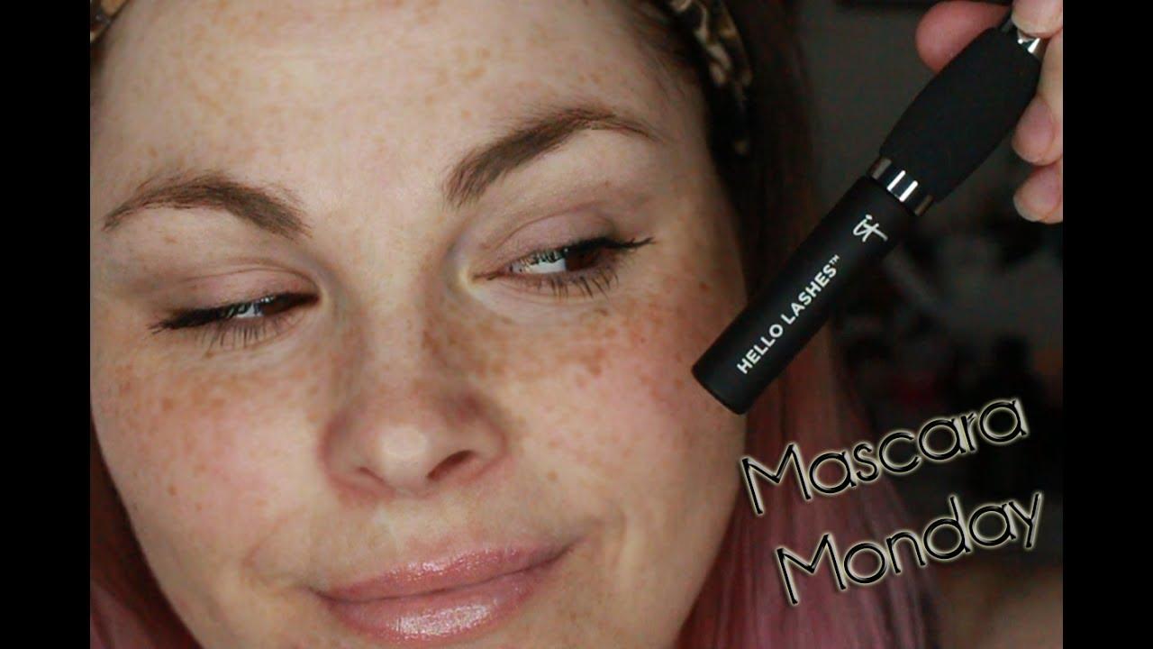 bc0f2eb45e3 IT COSMETICS Hello Lashes 5-in-1 Mascara Demo & Wear Test | Mascara Monday