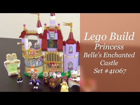 Let's Build - LEGO Disney Princess Belle's Enchanted Castle Set #41067
