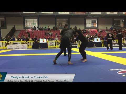 Monique Ricardo Vs Kristine Felts / Dallas Spring Open No Gi 2017