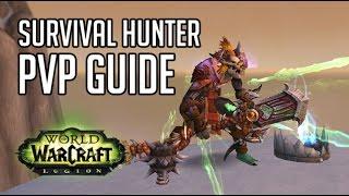 WoW:Legion 7.1.5 Охотник выживание ПвП гайд (Survival hunter PvP Guide)
