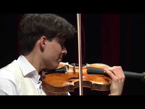 NATHAN MIERDL  Menuhin Competition 2018 Senior first rounds - day 1
