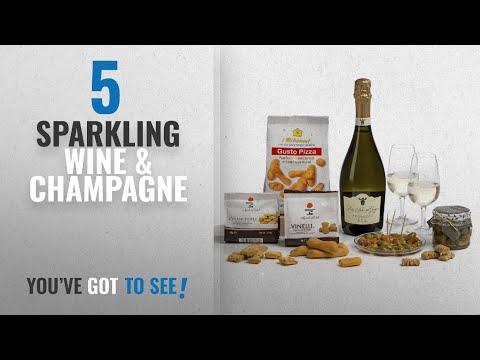 Top 10 Sparkling Wine & Champagne [2018]: Prosecco Wine & Italian Nibbles Gift Hamper Box- 'cos