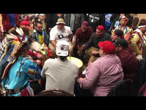 Shooting star powwow 2018— Red willow singers