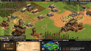 Age of empires II - GAME 3 - WolfSilver vs Kedaxx - BATTLE POUR LE TITRE