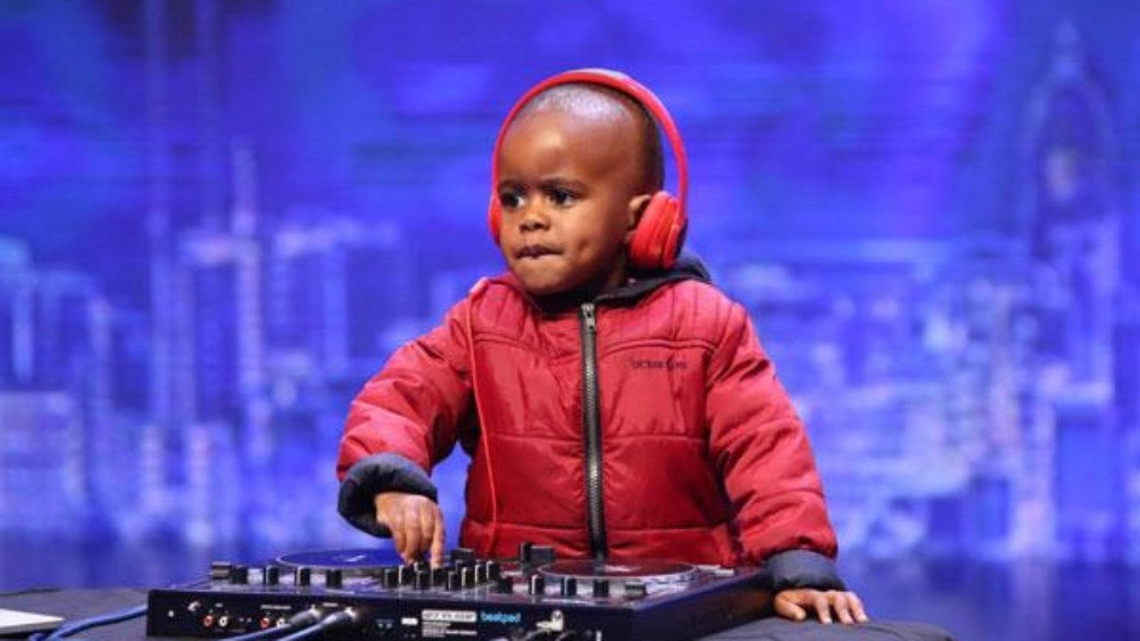 The Most Famous Baby DJ In The World On SA's Got Talent Stage.