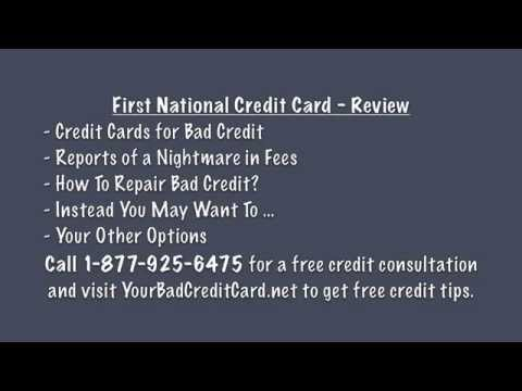 First National Credit Card - First National CC