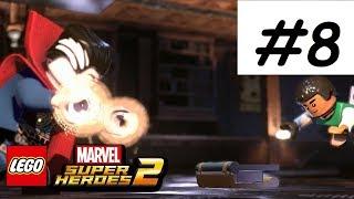 LEGO Marvel Superheroes 2 Walkthrough PART 8 STRANGE