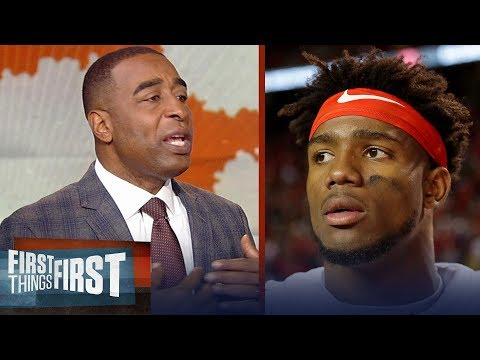 Cris Carter reacts to Kelly Bryant's decision to transfer from Clemson | CFB | FIRST THINGS FIRST