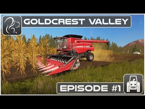 Farming Simulator 17 | Goldcrest Valley Episode 1 | Lets Play (PC) | Sponsored