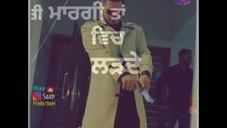 16 Number Sucha Yaar Whatsapp Status   Latest Punjabi  Status 2019    Othe bawaan paa dine aa