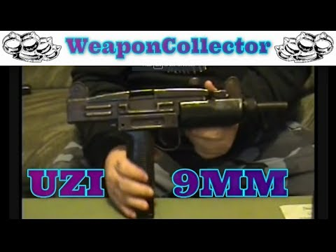 Deactivated 9mm Israel Uzi With Wood Stock Review