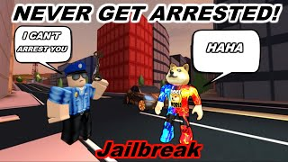 *NEW* HOW TO NEVER! GET ARRESTED GLITCH! | Roblox Jailbreak