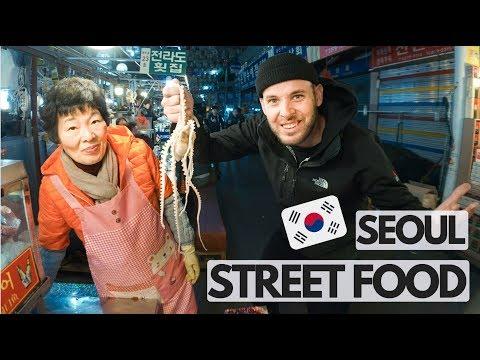 Is South Korean Food GOOD In Gwangjang Market I Seoul