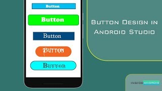 Button Design in Android Studio