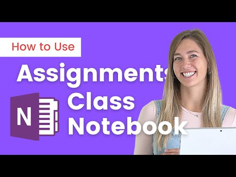 Use Assignments in Onenote Class Notebook in Teams