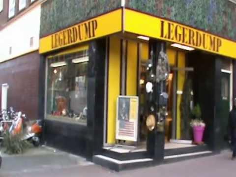 Legerdump amsterdam