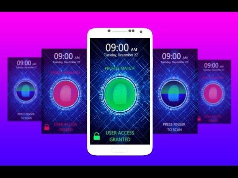 Fingerprint lock on any android phone.