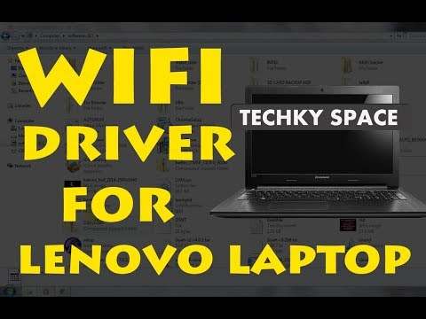 How to download wifi drivers on lenovo laptop (windows 10/8.1/8/7)