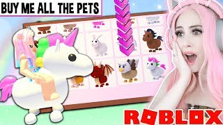 RIDING GRIFFIN PET IN ADOPT ME CODES 2019 | Roblox Adopt ...