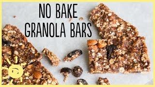 Meg | No Bake Granola Bars, Gluten Free