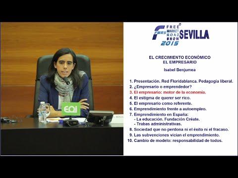 [FMRS-Sevilla] Isabel Benjumea - El Empresario: motor de la economía