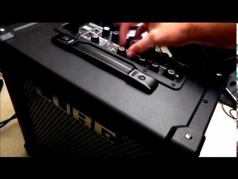 roland cube 40gx guitar amplifier demo youtube. Black Bedroom Furniture Sets. Home Design Ideas
