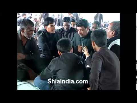 Nargha hai dilbar e Hassan   Mujahed Ali Zafar   at Pari Mahal 7th Muharram 2013