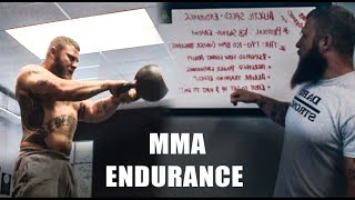 How to Maintain Power in an MMA Fight