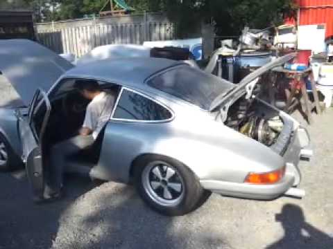 1972 Porsche 911 First Engine Start