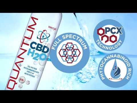 Quantum CBD H2O, the #1 cannabis beverage worldwide with ZERO THC
