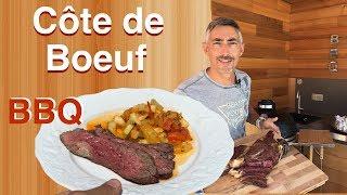 Côte de boeuf au Barbecue Monolith !