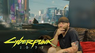 Cyberpunk 2077 E3 Trailer REACTION