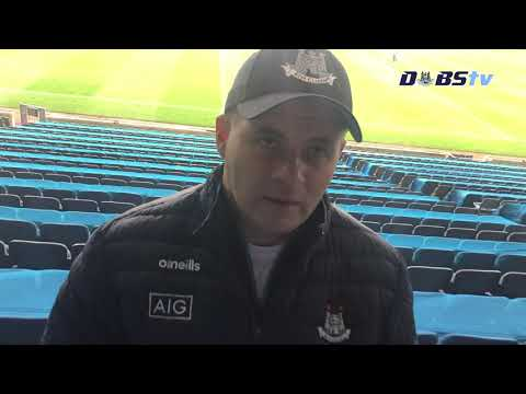 Dessie Farrell speaks to DubsTV after Leinster Final win