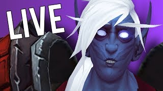 HAVING A GOOD DAY! HOW ARE YOU? - WoW: Battle For Azeroth 8.2 (Livestream)