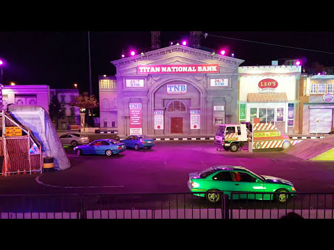 Monster stunt show At global village Dubai