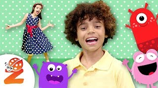Shake Your Sillies Out | NEW Song for Kids | Zouzounia TV