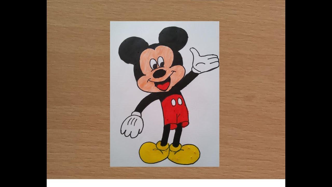 Mickey Mouse çizimi Youtube