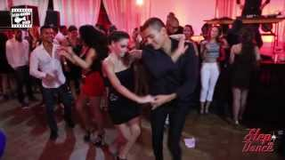 Adolfo Indacochea & Jessica Patella - social @ STEP IN DANCE 3