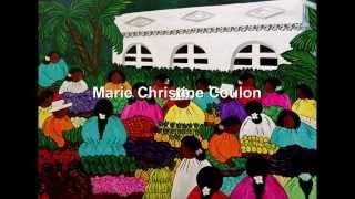 Marie Christine Coulon  - Peintures Naïves - île de la Réunion