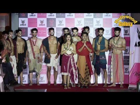 Arshi Khan At Showstopper Of Sabhasachi & Kanchan Todi For 'The Glam Summer Runway'