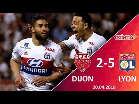 Dijon 2-5 Lyon | Ligue 1 - 20.4.2018