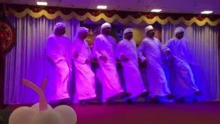 Arabic Dance by Guruvayoor NRI Forum UAE 'Family Meet 2016'
