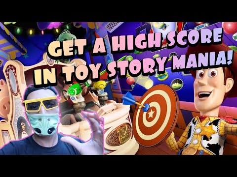 HOW TO GET A HIGH SCORE IN TOY STORY MANIA | Disney's Hollywood Studios Reopening |