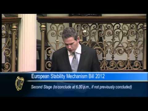 Sean Kyne TD on the European Stability Mechanism Bill