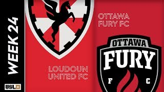 Loudoun United FC vs. Ottawa Fury FC: August 17th, 2019