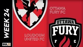 Loudoun United FC vs. Ottawa Fury FC: August 17th, 2019