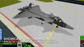 Roblox showcase: The Chengdu J-20